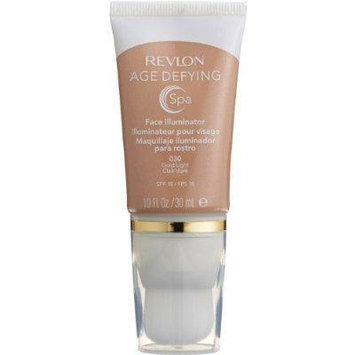 Revlon Age Defying Spa Face Illuminator Gold Light (2-Pack)