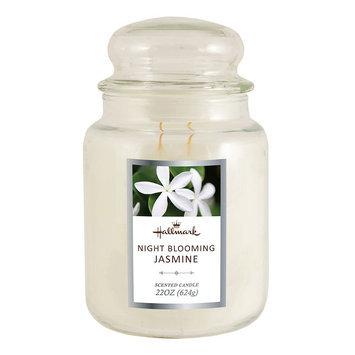 Hallmark Night Blooming Jasmine 22-oz. Jar Candle, White