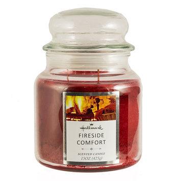 Hallmark Fireside Comfort 15-oz. Jar Candle, Red