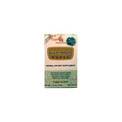 Bai He Gu Jin Wan (Lilium Teapills), 200 ct, Min Shan