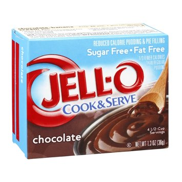 JELL-O Cook & Serve Pudding & Pie Filling  Chocolate Sugar Free Fat Free