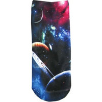 Okitani Outer Space Womens Ladies Ankle Socks Planet No Show