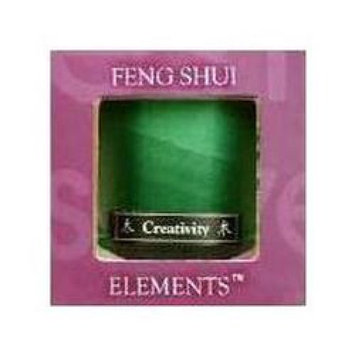 Aloha Bay Feng Shui Candle Jar Wood 2.5 oz