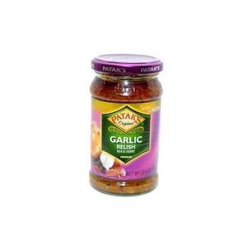 Patak's Original Garlic Relish - Rich & Chunky (Medium) - 10.6oz