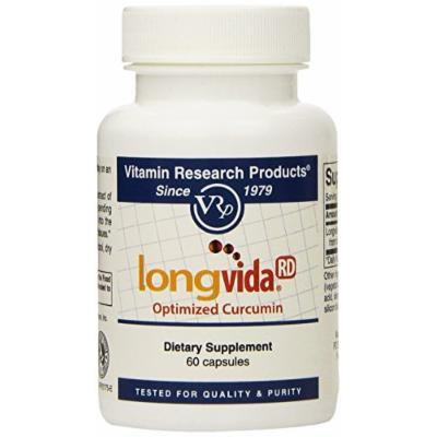 Longvida Optimized Curcumin 500mg (60 capsules) Brand: Vitamin Research Products