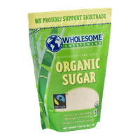 Wholesome Sweeteners Evaporated Cane Juice Organic Sugar
