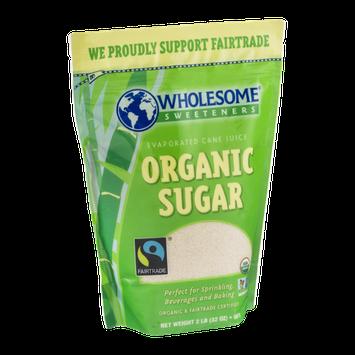 Wholesome Sweeteners Evaporated Cane Juice Organic Sugar