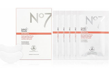 NO7 Instant Results Revitalising Hydrogel Eye Masks