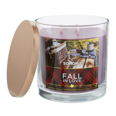 SONOMA Goods for Life™ Fall In Love 14-oz. Jar Candle, Multi/None