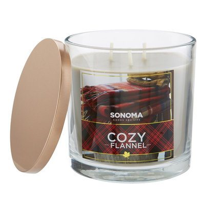 SONOMA Goods for Life™ Cozy Flannel 14-oz. Jar Candle, Multi/None