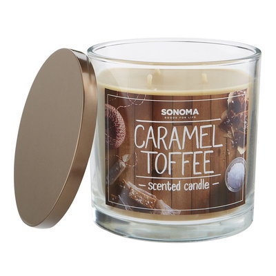 SONOMA Goods for Life™ Caramel Toffee 14-oz. Jar Candle, Multi/None