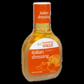 Guaranteed Value Italian Dressing