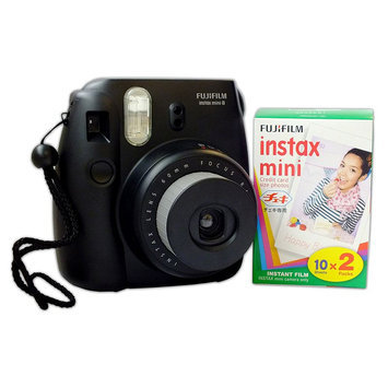 Fujifilm Instax Mini Instant Film Camera with 2-pack of Photo Film Paper