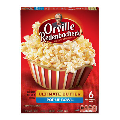 Orville Redenbacher's Ultimate Butter Microwave Popcorn