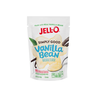 JELL-O Simply Good Vanilla Bean Instant Pudding Mix