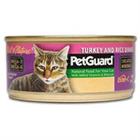 PetGuard Canned Cat Food Turkey and Rice Dinner - 5.5 oz