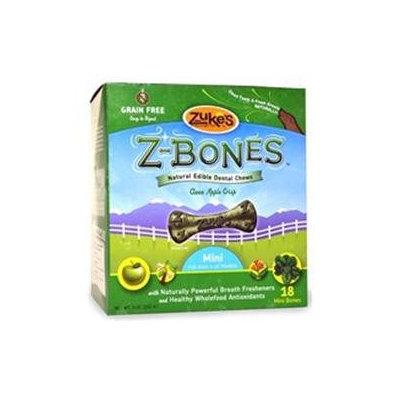 Zukes Z-Bones Apple Mini - 18 pack