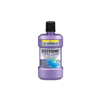 Listerine Total Care Plus Whitening Mouthwash Fresh Mint, 8-Ounce (Pack of 12)