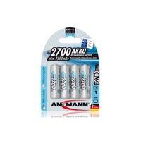 Ansmann 5030842 Ansmann 2700 mAH AA rechargeable batteries 4-Pack