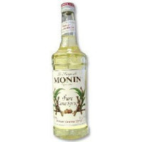 Monin Pure Cane Sugar Syrup, 750 Ml