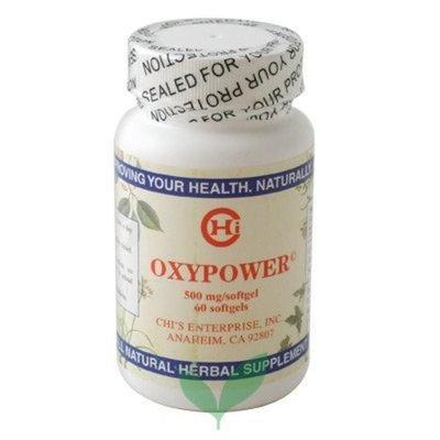 Chi's Enterprise OxyPower 60 soft gels