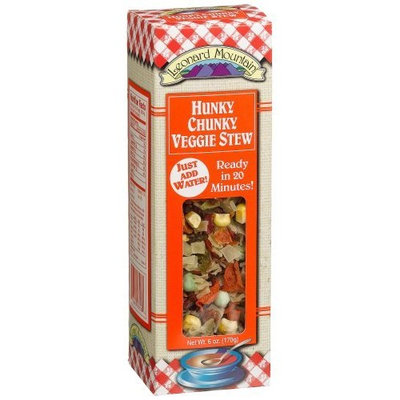 Leonard Mountain Hunky Chunky Veggie Stew, 6-Ounce. Boxes (Pack of 4)