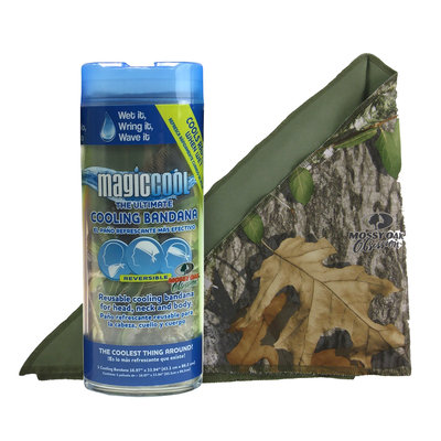 Metallized Products, Inc. Bandana Mossy Oak Obsession/OD Green Reversible