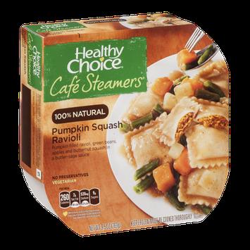 Healthy Choice Cafe Steamers 100% Natural Pumpkin Squash Ravioli