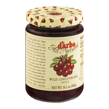 D'arbo Wild Lingonberry Sauce