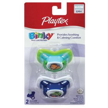 Playtex Binky Silicone Older Baby Pacifier, 2 ea