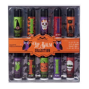 Simple Pleasures 10-pc. Halloween Lip Balm Gift Set, Multi/None