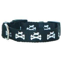 Bark Dog and Crossbones Collar