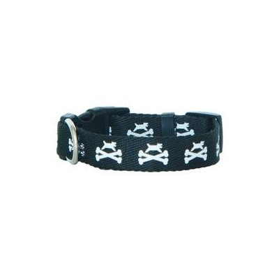 Bark Dog and Crossbones Collar