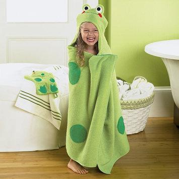 Jumping Beans Frog Bath Wrap, Green