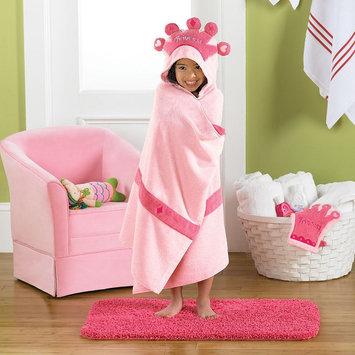 Jumping Beans Princess Bath Wrap, Pink
