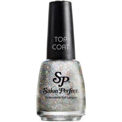 Salon Perfect Professional Nail Lacquer, 613 Cosmic Dust, 0.5 fl oz, Top Coat