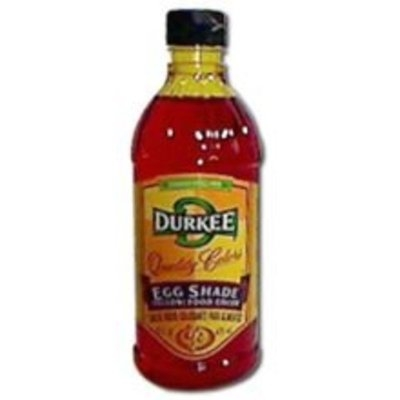 Tone Brothers Durkee Egg Shade Food Color, 6 Bottles Per Case, 16 Ounces Per Bottle.
