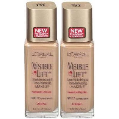 L'Oréal Paris Visible Lift Line-Minimizing & Tone Enhancing Makeup Oil-Free Makeup for Normal to Oily Skin SPF 17