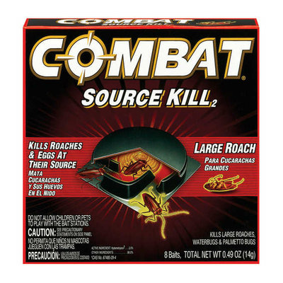 Memorex Dial Complete Combat Source Kill Large Roach Killing System 8/Box