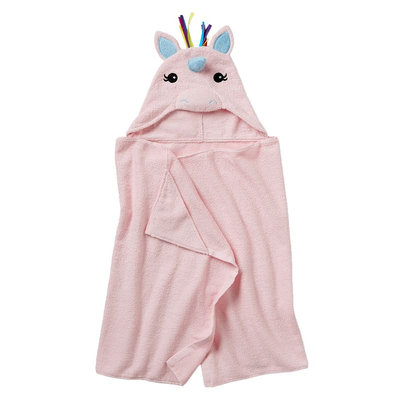 Jumping Beans® Unicorn Bath Wrap, Pink