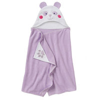 Jumping Beans® Panda Bath Wrap, Purple