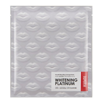 Manefit Bling Bling Hydro Gel Mask Whitening Platinum