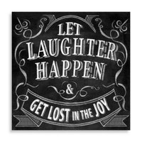 Let Laughter Happen Wall Art