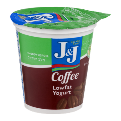 J&J Lowfat Yogurt Coffee