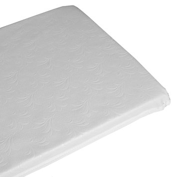 Baby Luxe L.A. Baby Babyluxe Quilted Vinyl Porta-Crib - White White