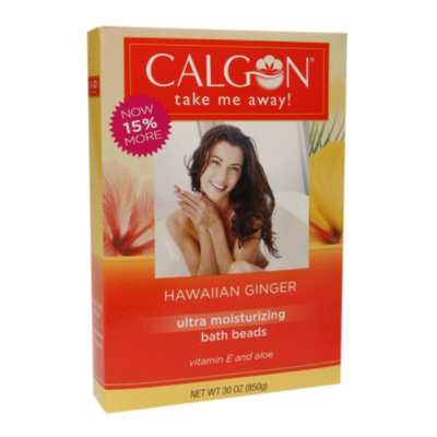 Calgon Ultra Moisturizing Bath Beads, Hawaiian Ginger, 30 oz
