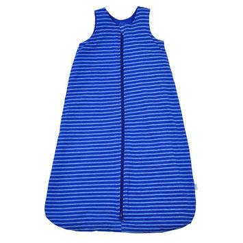i Play. Brights Organic Sleeper in Royal Blue Stripe