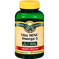 Spring Valley Vita-MINI Omega-3 Dietary Supplement Mini Softgels
