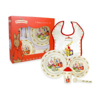 Royal Doulton Bunnykins 5-Piece Melamine Dinner Set