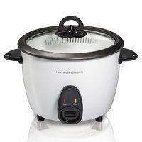 Hamilton Beach 16-Cup Rice Cooker, White